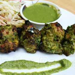 Chicken Hariyali Kebab